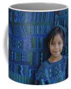 A Portrait Of A Guatemalan Girl Coffee Mug by Raul Touzon