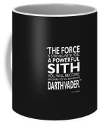 A Powerful Sith Coffee Mug