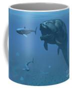 A Prehistoric Dunkleosteus Fish Coffee Mug