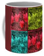 A Quadruple Of Tulips Coffee Mug
