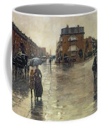 A Rainy Day In Boston Coffee Mug