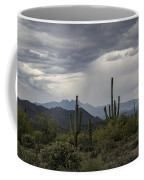 A Rainy Desert Afternoon  Coffee Mug