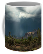 A Rainy Evening In The Superstitions  Coffee Mug