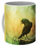 A Ravens Poise Coffee Mug