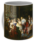A Reading By Madame De Sevigne Coffee Mug