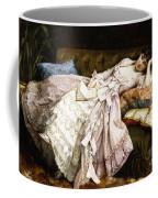 A Reclining Beauty Coffee Mug