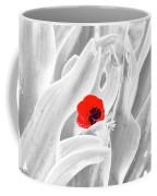 A Red Dot Coffee Mug