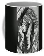 A Red Indian Girl Coffee Mug