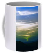 A Red Sunset In Infra Red Coffee Mug by Adam Asar
