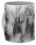 A River Flows, B/w Coffee Mug