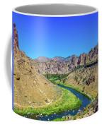 A River Runs Through Coffee Mug