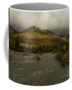 A River Runs Through The Brooks Range Alaska Coffee Mug
