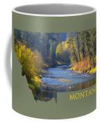 A River Runs Thru Autumn Coffee Mug