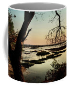 A River Sunset In Botswana Coffee Mug