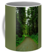 A Road Through The Forest Coffee Mug