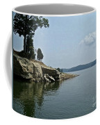 A Rocky Point - Monroe Lake Coffee Mug