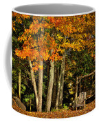A Romantic Autumn Spot In Inlet Coffee Mug