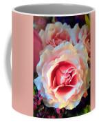 A Romantic Pink Rose Coffee Mug
