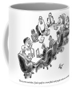 A Room Filled With People Who Are Wrong Coffee Mug