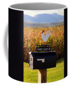 A Rooster Above A Mailbox 1 Coffee Mug
