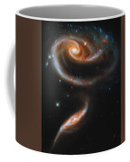 A Rose Made Of Galaxies Coffee Mug