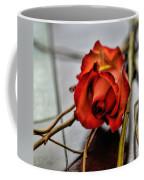 A Rose On Bamboo Coffee Mug