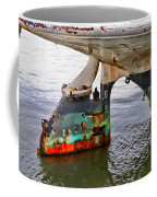 A Rudder Of Many Colors Coffee Mug