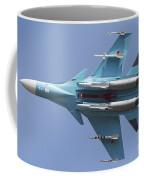 A Russian Air Force Su-34 In Flight Coffee Mug