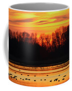 A Scene At Bombay Hook National Coffee Mug by George Grall