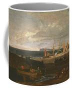 A Scene On The English Coast Coffee Mug