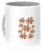 A School Of Clown Fish Coffee Mug