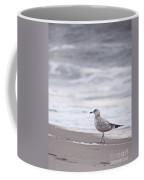A Seagull At The Beach Coffee Mug