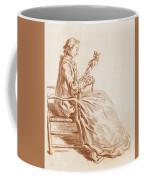A Seated Woman Coffee Mug