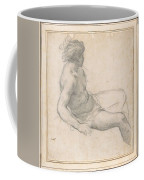 a Seated Youth for the Age of Gold , Pietro da Cortona Coffee Mug