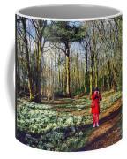 A Selfie In Snowdrop Wood Coffee Mug