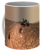 A Selfie On Mars Coffee Mug