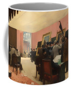 A Session Of The Painting Jury Coffee Mug