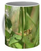 A Shy Grasshopper Coffee Mug
