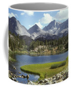 A Sierra Mountain Lake In Summer Coffee Mug