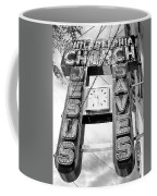 A Sign From Above Jesus Saves Coffee Mug
