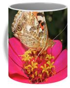 A Sip Of Zinnia Coffee Mug