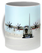 A Ski-equipped Lc-130 Hercules Coffee Mug by Stocktrek Images