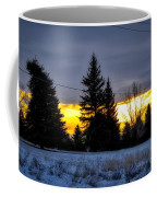 A Sleepy Morning Sunrise Coffee Mug