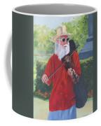 A Slim Fiddler For Peace Coffee Mug