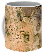 A Small Rice Village In The Central Coffee Mug