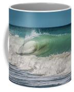 A Small Tube Wave In Atlantic Ocean Coffee Mug