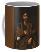 A Smiling Beggar Coffee Mug