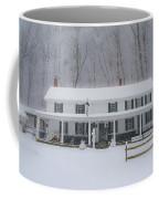 A Snowstorm At Valley Green Inn Coffee Mug