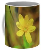 A Soft Yellow Flower  Coffee Mug