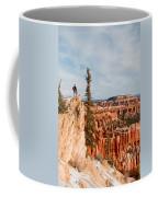 A Solitary Hiker Looks Coffee Mug